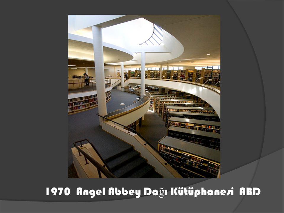 1970 Angel Abbey Da ğ ı Kütüphanesi ABD