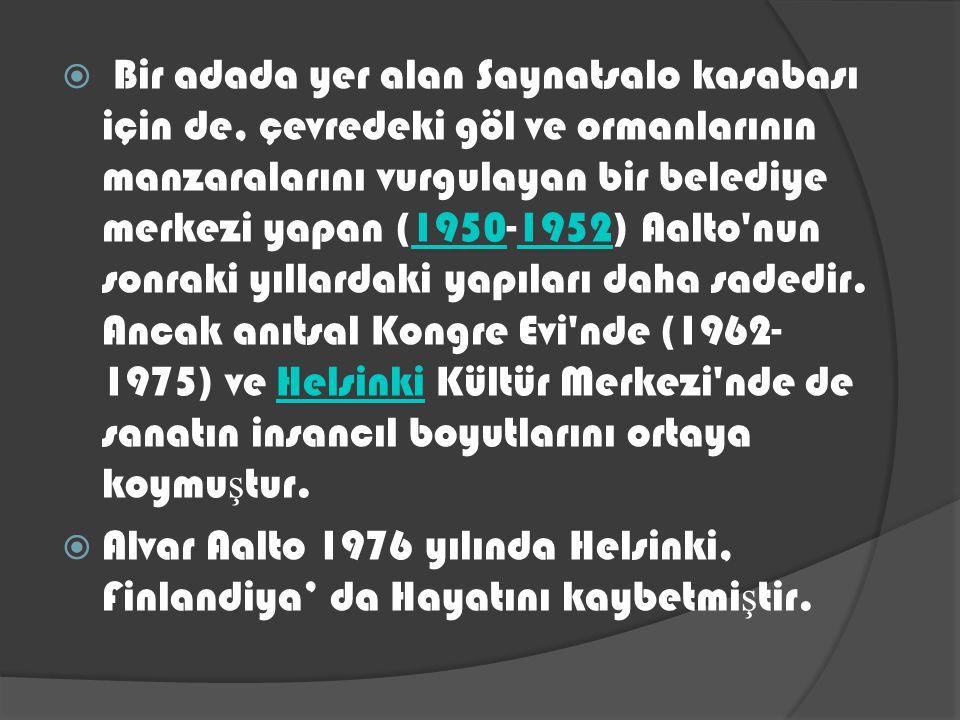 1949 – 1966: Helsinki Teknoloji. Üniversitesi Finlandiya