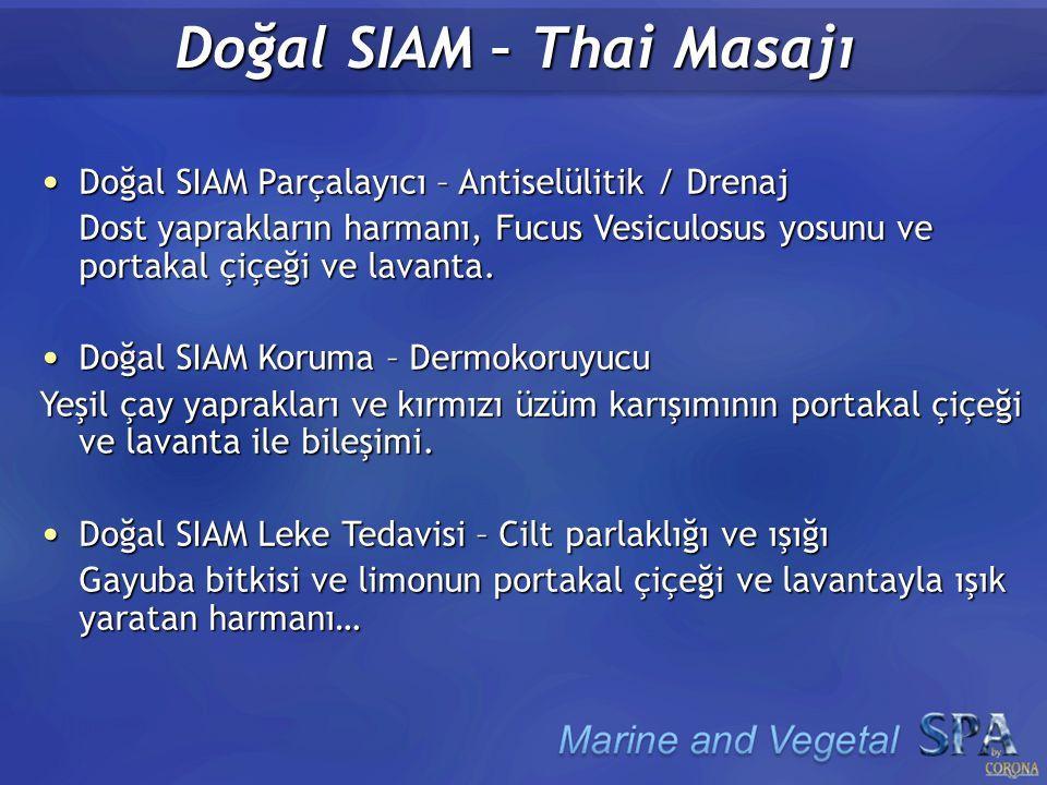 Doğal SIAM – Thai Masajı Doğal SIAM Parçalayıcı – Antiselülitik / Drenaj Doğal SIAM Parçalayıcı – Antiselülitik / Drenaj Dost yaprakların harmanı, Fucus Vesiculosus yosunu ve portakal çiçeği ve lavanta.