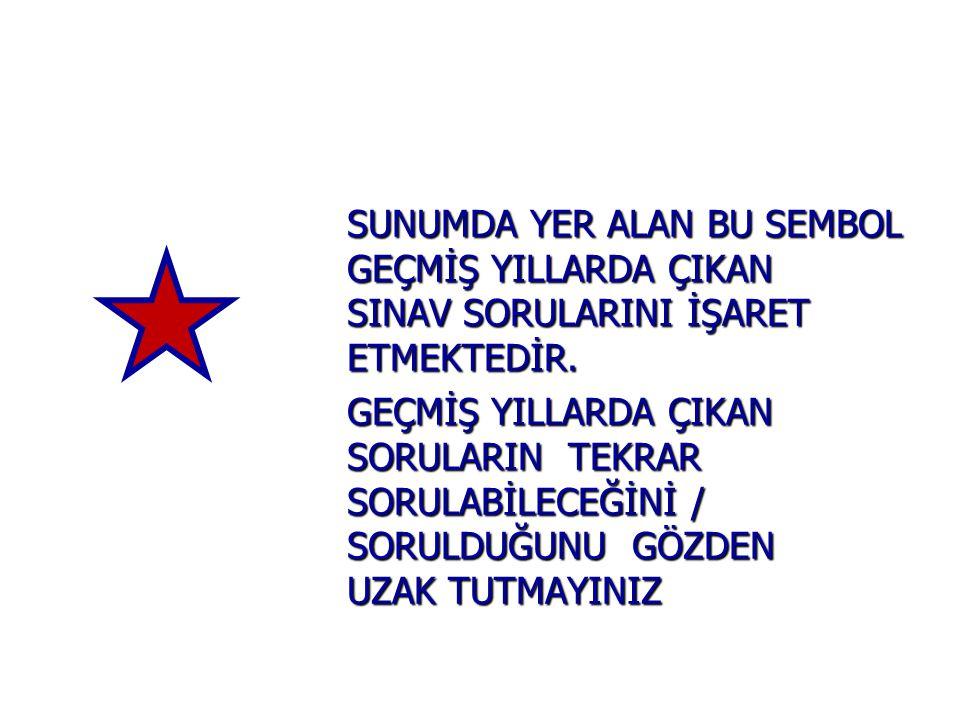 DİĞER İSTİSNALAR - GEÇ.M.