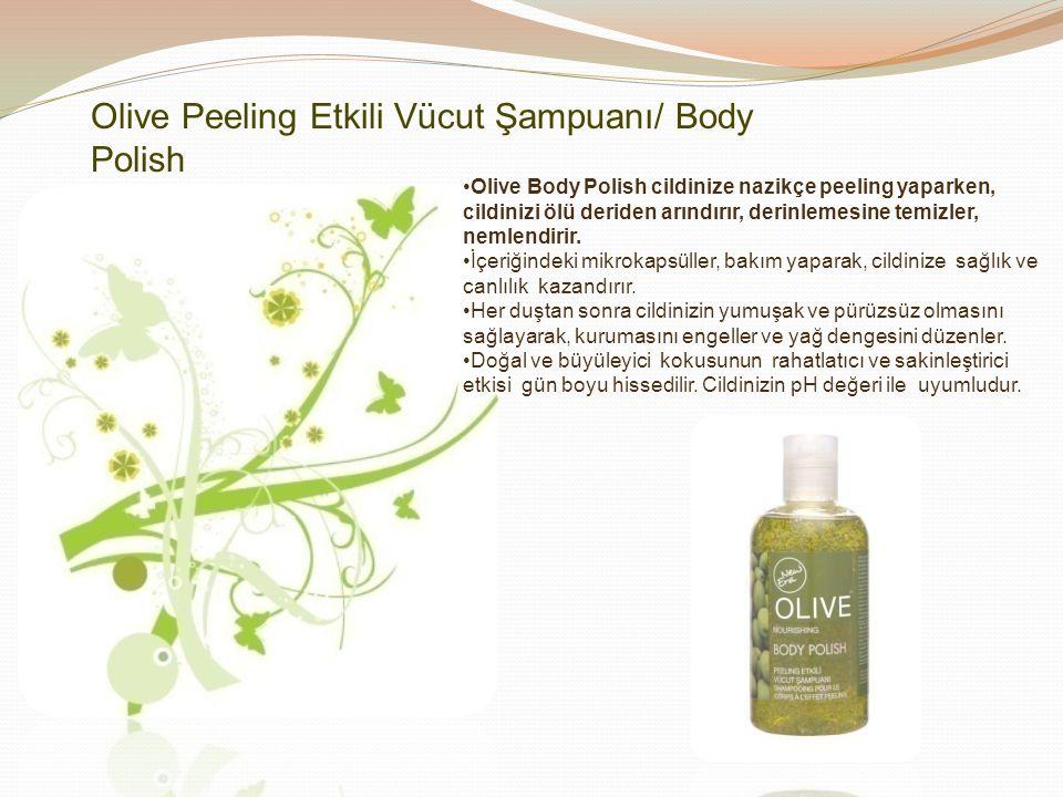 Olive Sıvı Sabun'un doğal ve büyüleyici kokusunun rahatlatıcı ve sakinleştirici etkisi ile elleriniz mis gibi kokar.