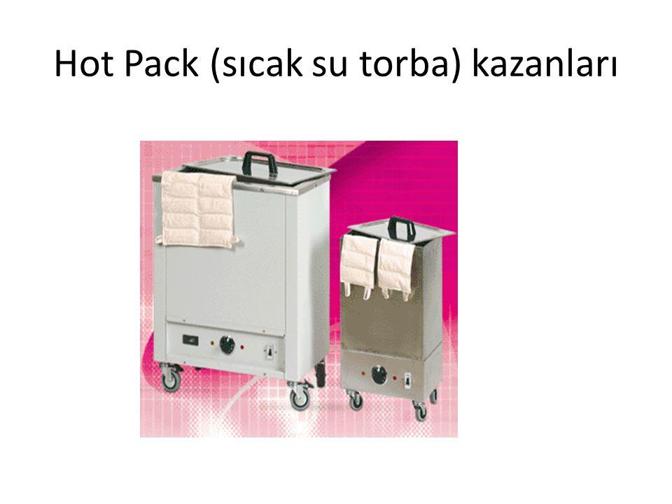 Hot Pack (sıcak su torba) kazanları