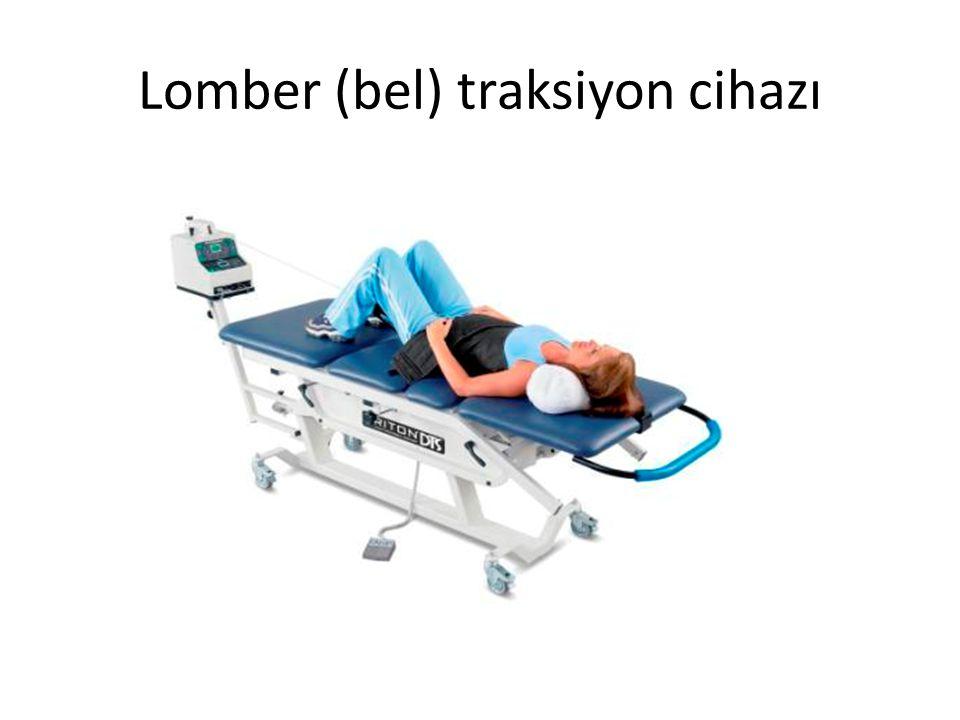 Lomber (bel) traksiyon cihazı