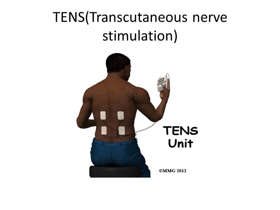 TENS(Transcutaneous nerve stimulation)