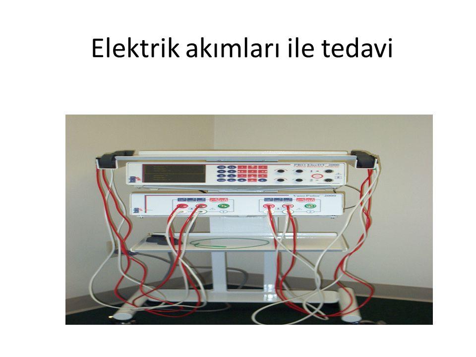 Elektrik akımları ile tedavi