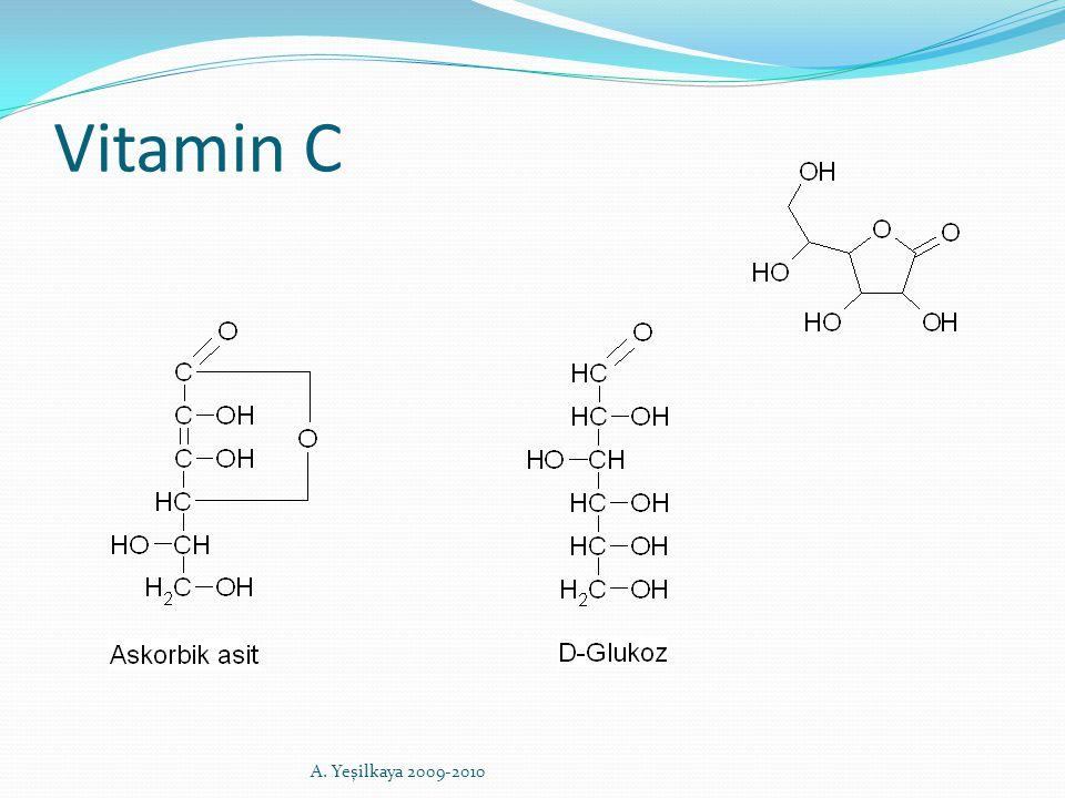 Vitamin C A. Yeşilkaya 2009-2010
