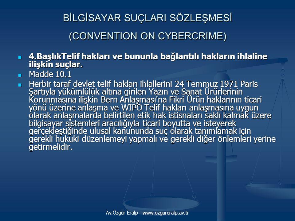 Av.Özgür Eralp - www.ozgureralp.av.tr Ankara 5.Ticaret Mahkemesi davalı Murat Güzel imzalı (Dünden bugüne Türkiye'de internet) yazıda görsel malzeme olarak müvekkilinin kitabının 85.