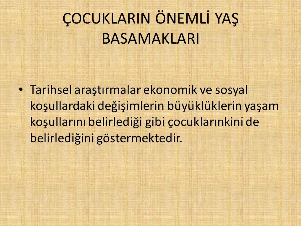 ÇOCUK HUKUKU Prof.Dr. Emine Akyüz Çocuk Hukuku Kitabından Yararlanılmıştır.