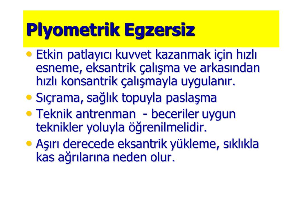 © 2005 The McGraw-Hill Companies, Inc. All rights reserved. Eksantrik / Polimetrik Egzersizler İçin Örnekler
