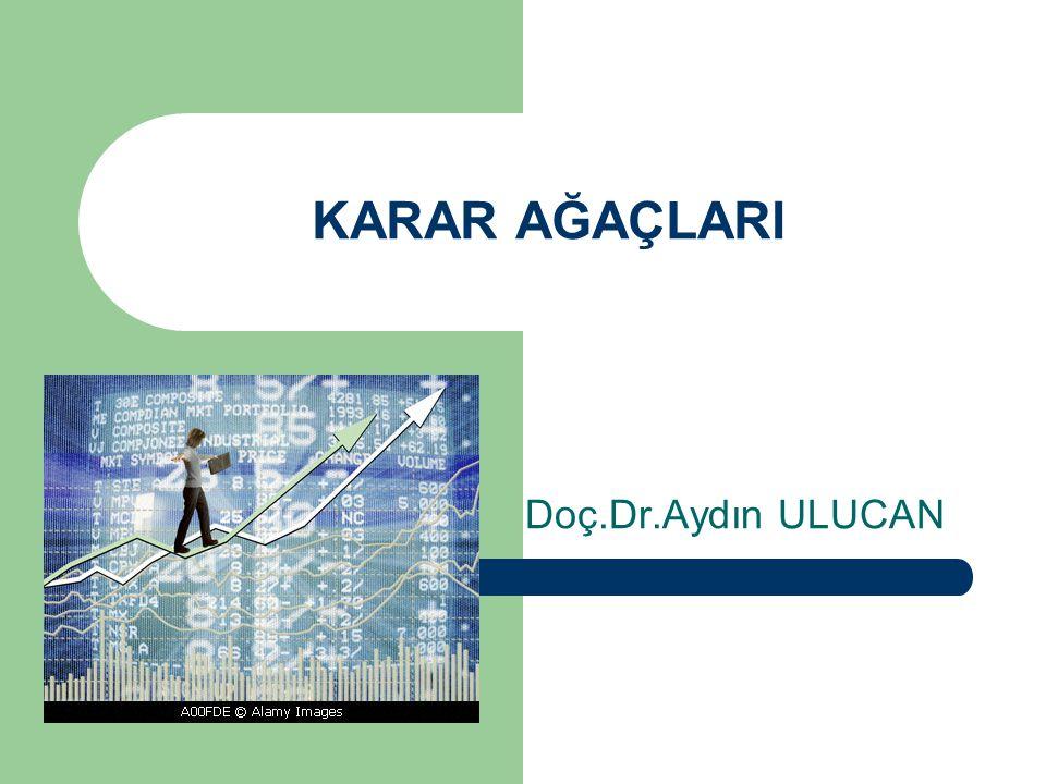 KARAR AĞAÇLARI Doç.Dr.Aydın ULUCAN