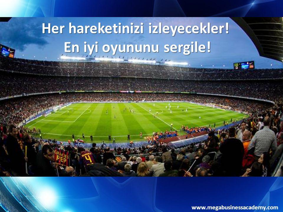 www.megabusinessacademy.com RAKİP TAKIMI TANIYALIM! 8. ÖĞRENMEK Öğrendiğinizi Uygulayın!