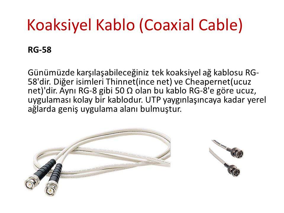 2- Kaplamasız Dolanmış Çift (Unshielded Twisted Pair) Kategoriler UTP kablo kendi içinde güvenli olarak aktarabileceği veri miktarına göre kategorilere sahiptir.
