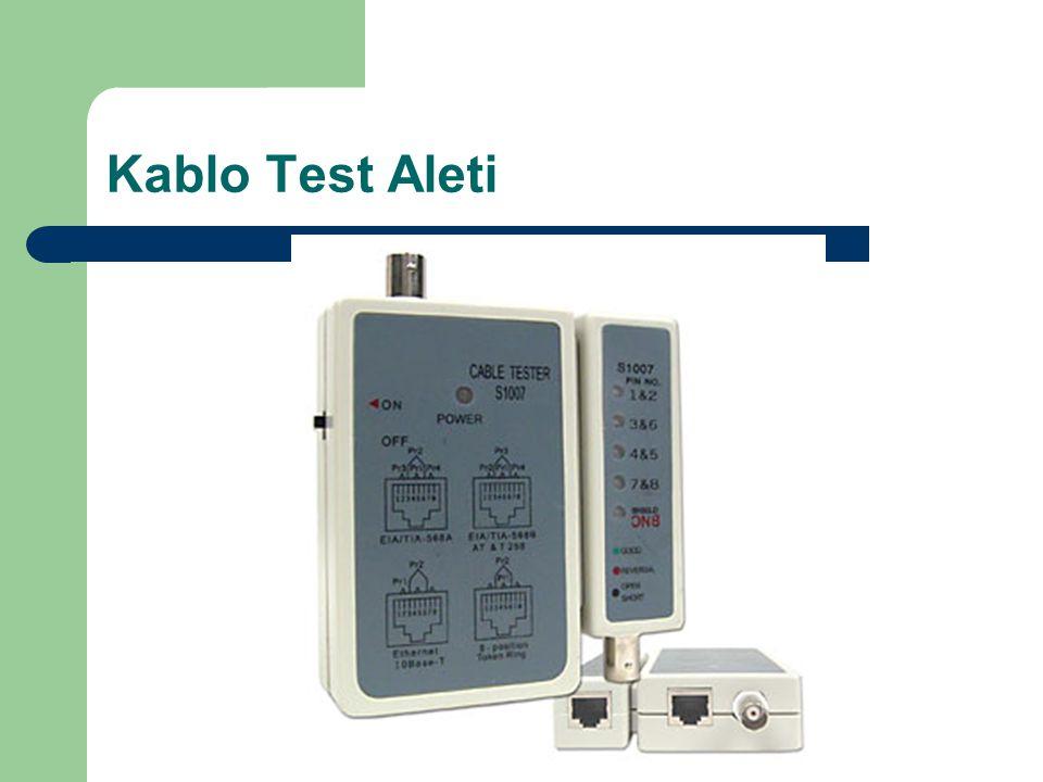 Kablo Test Aleti