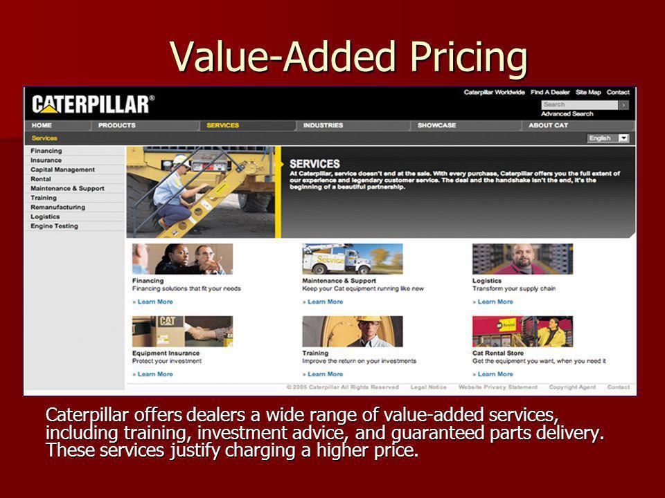 Fiyatlandırma özgürlüğü farklı Pazar tiplerine göre değişir.