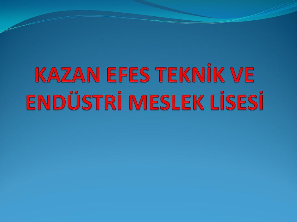 METAL TEKNOLOJİSİ ALANI TANITIM SUNUSU 09.05.2014