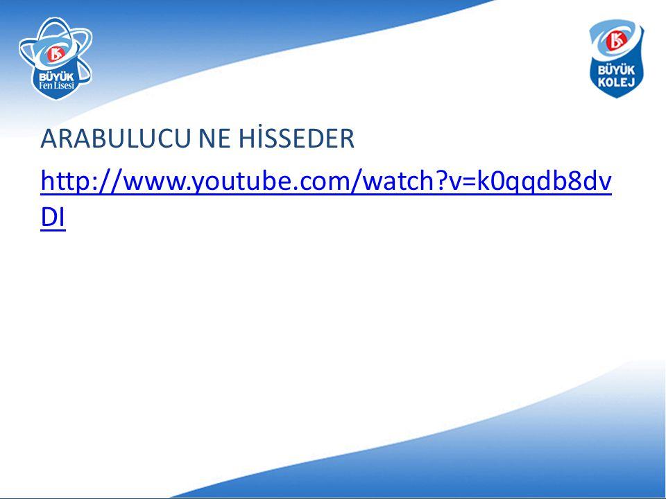 ARABULUCU NE HİSSEDER http://www.youtube.com/watch?v=k0qqdb8dv DI
