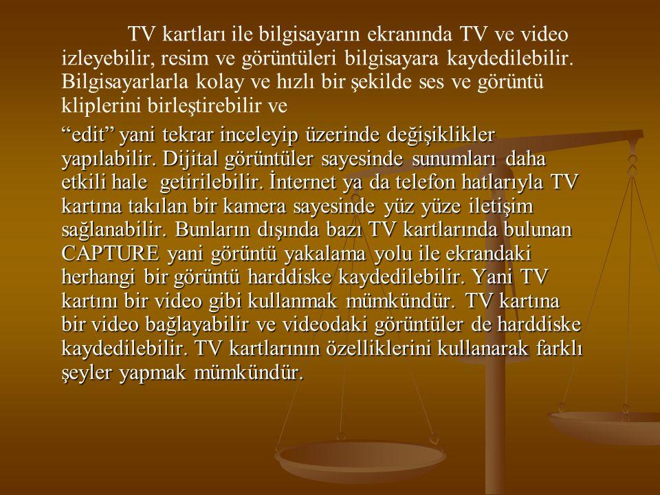 TV Kartı Alırken Nelere Dikkat Etmeli.Görüntü kalitesi: TV nin temeli görüntüdür.