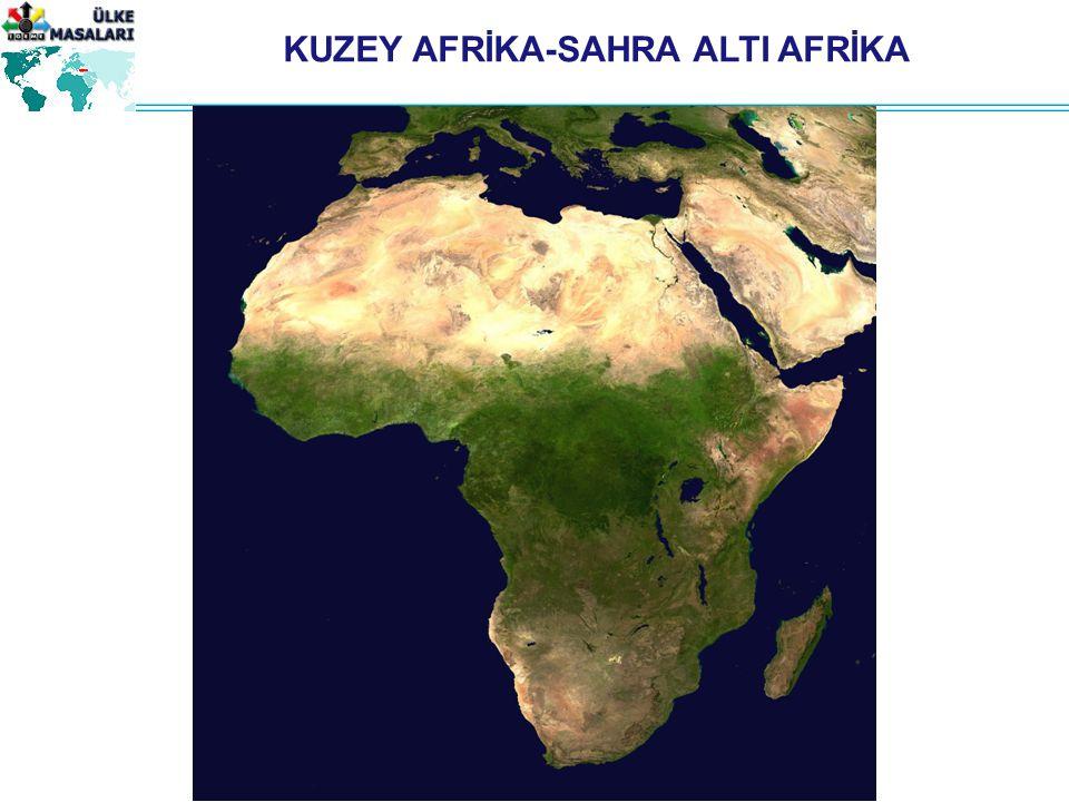 KUZEY AFRİKA-SAHRA ALTI AFRİKA