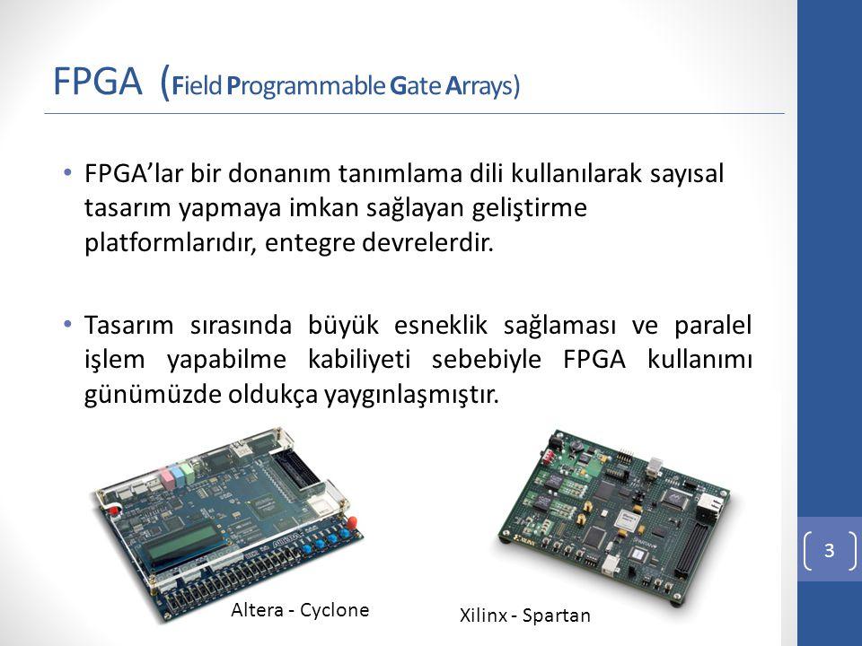 FPGA FPGA'yi günümüzde popüler yapan özellikler; Kullanımının artmasına bağlı olarak fiyatlarının düşmesi Gelişen teknoloji ile birlikte kapasitelerinin artması 1987: 9000 Lojik Kapı 2012: 20 Milyon Lojik Kapı Gelişmiş tasarım programları (Quartus) Örnek uygulamaların kolay erişilebilir hale gelmesi www.cizgi-tagem.org www.mcu-turkey.com 4