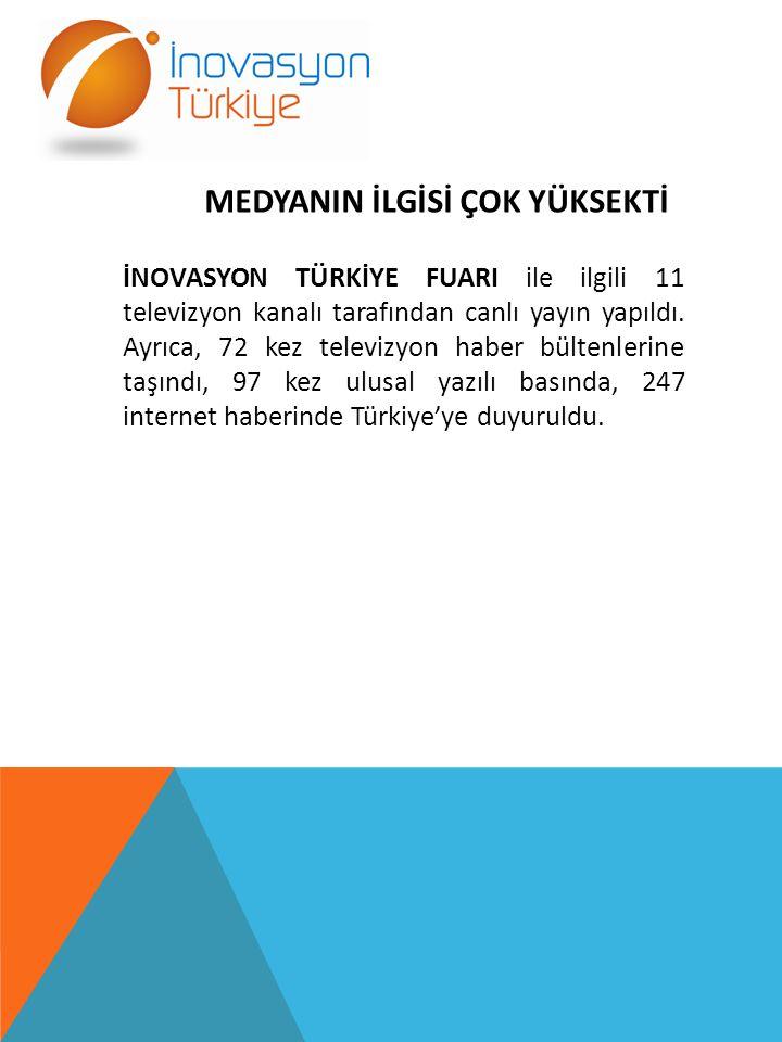 PROJELER YATIRIMCI İLE BULUŞTU Fuarın ana amacı, projelerin yatırımcı ile buluşması maksimum oranda gerçekleşti.
