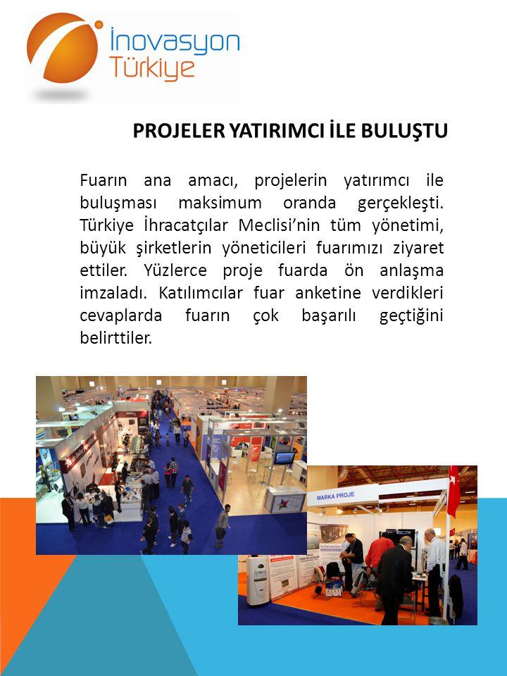 Proje Sahibi: Erhan ATALAY Proje Adı : Enerji Üretimi ve Yakıt Tasarrufu Sağlayan Tekerlek Sonuç : EMK Grup Şirketlerin den Osman Uslu ile ve Mann Ar-Ge departmanıyla görüşme aşamasındalar.