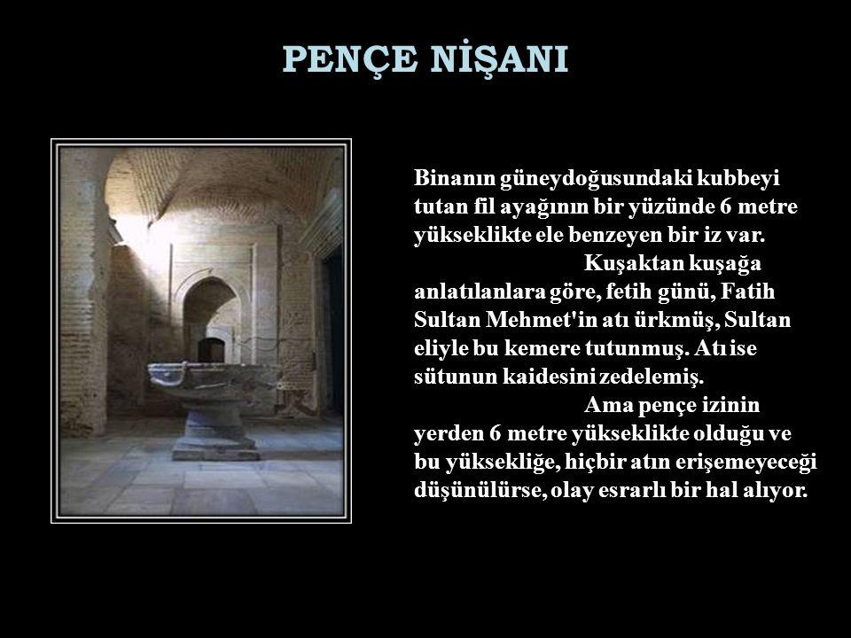 Kapılarından biri Nuh un gemsinden yapılmış. NUH'UN GEMİSİ