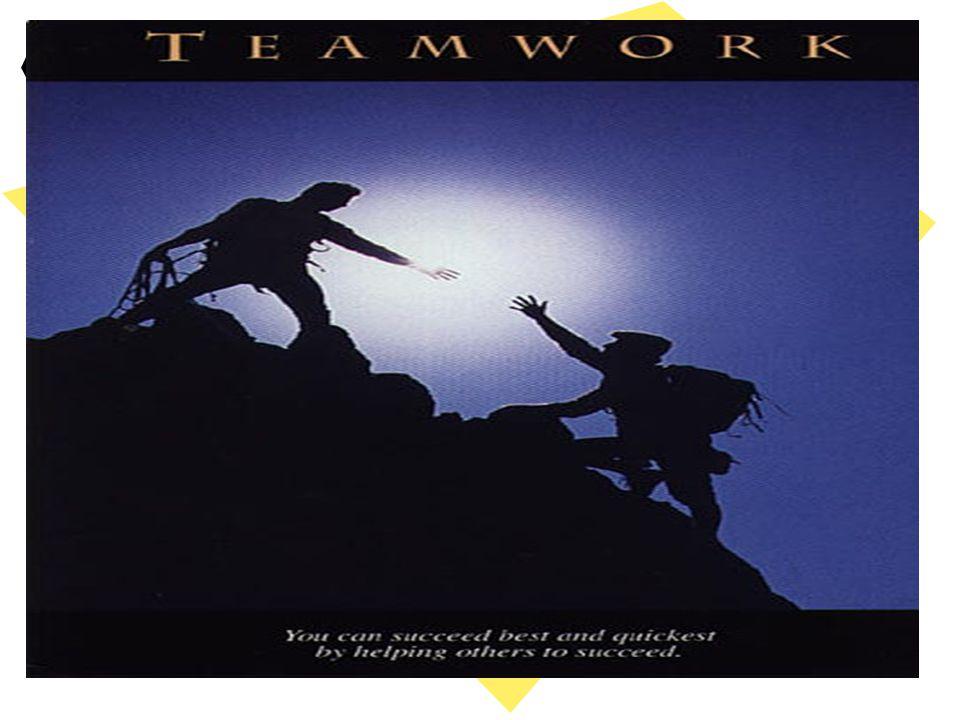 Takım Çalışmasının Kazançları -Takım elemanları zamanı doğru kullanmayı öğrenirler, -Takım elemanlarının fikir ayrılıklarıyla başa çıkma yetenekleri artar -Her takım elemanı takımın bir parçası olduğunu bilir.Kendi olmadan takımın,takım olmadan kendisinin olmayacağının bilincine varır, -Müşterek amaçlar oluşturulur ve bu amaçlara takım çalışması ile ulaşılır, -Takım elemanların bireysel başarı arayışı ortadan kalkar, -Takım elemanların da başarının takımla olabileceği yönünde kesin bilinç ve farkındalık oluşur.