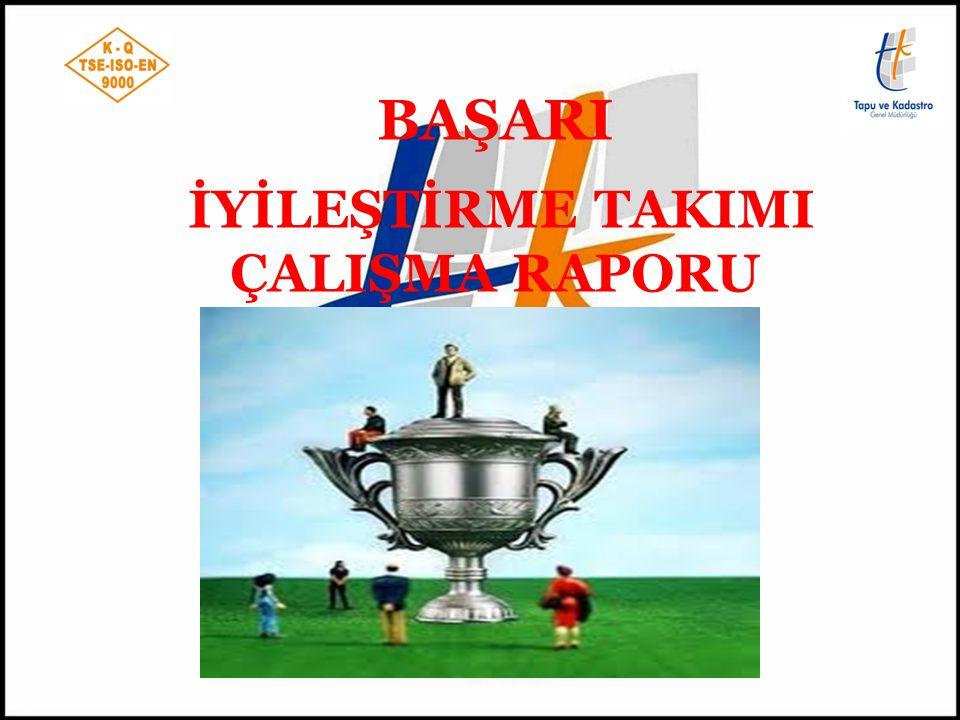 TANITIM Çalışmanın Yapıldığı Bölge Müdürlüğü : TKGM Kayseri XI.