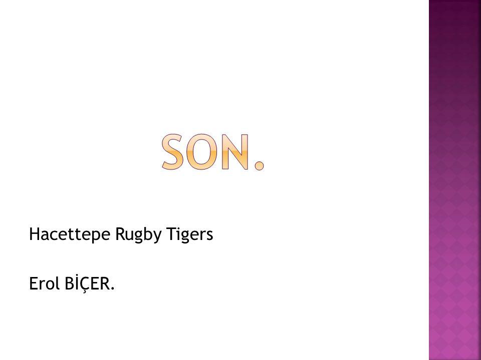 Hacettepe Rugby Tigers Erol BİÇER.