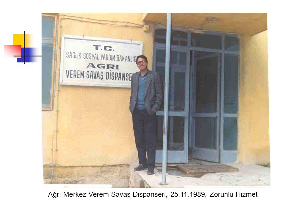Ankara Keçiören Sanatoryum Hastanesi, 12.1989, Asistan