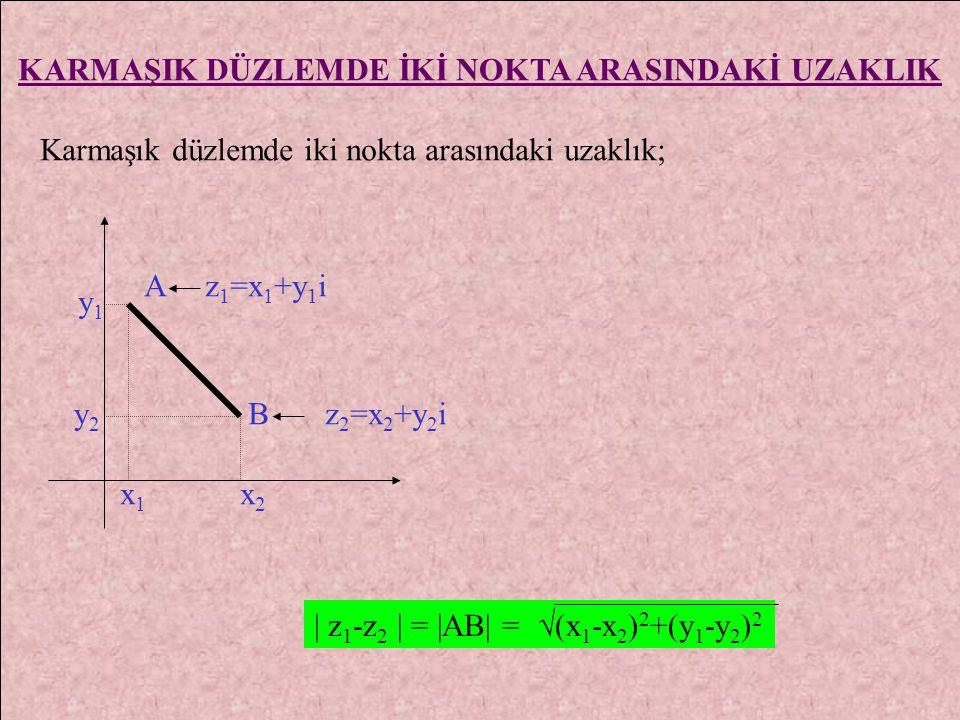 5. z, bir karmaşık sayı olmak üzere ; z - 2i = i.z + 1 ise Im (z) = ? 4. z = x + y i karmaşık sayısı için z- z = - 1 + 2i ise z = ?