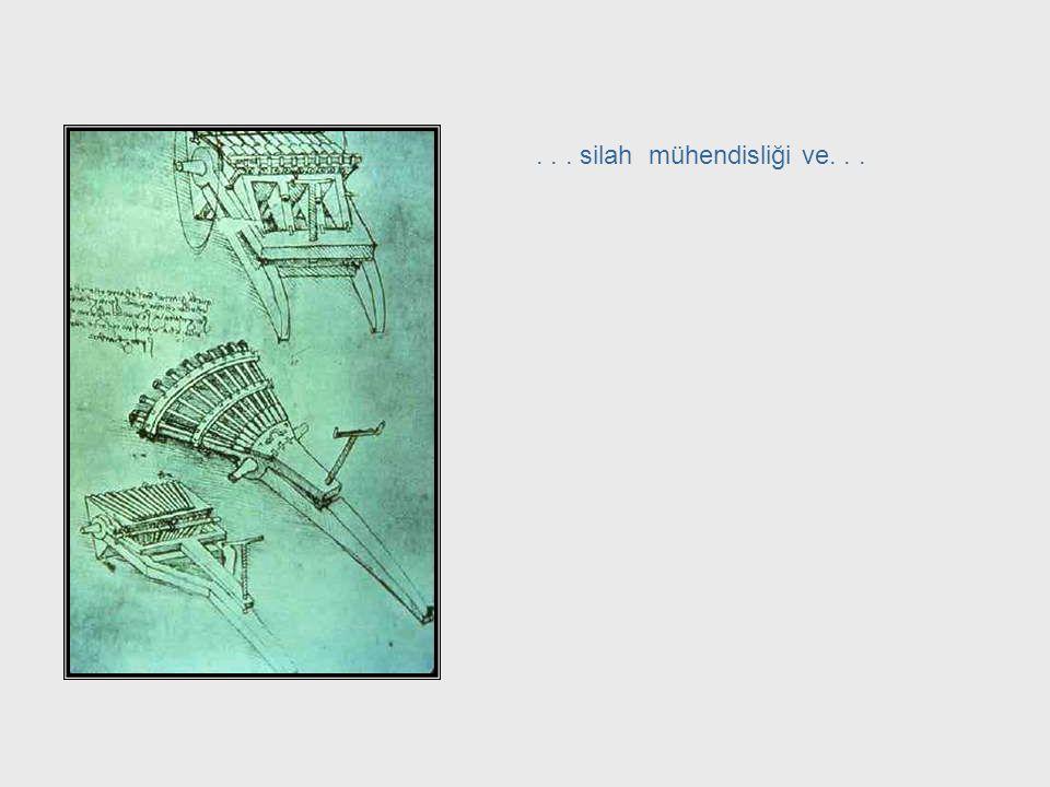 ... mimarlık... Da Vinci, cont. – Architecture