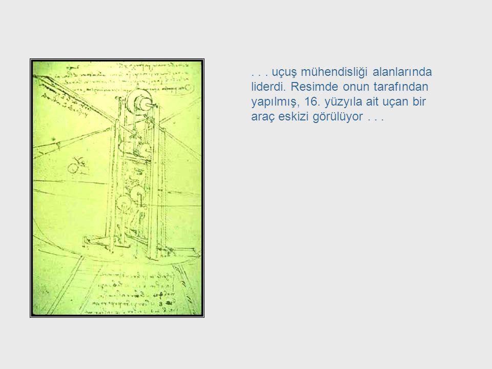 ... silah mühendisliği ve... Da Vinci, cont. – Weapons Engineering