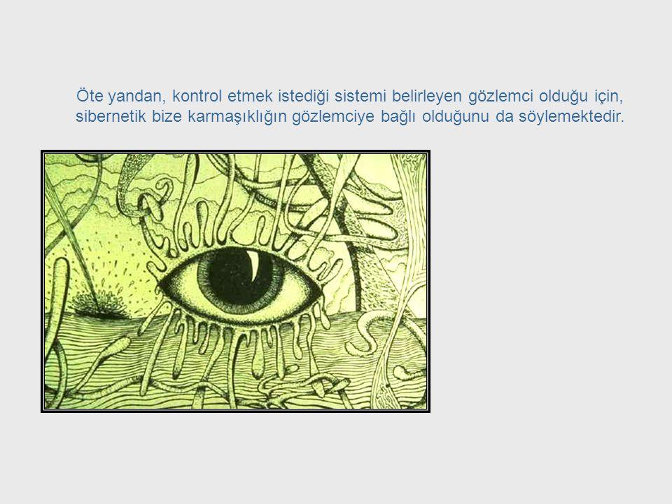 Leonardo Da Vinci'nin devrine dönüp mevcut tüm bilgi alanlarına hakim olmamız söz konusu olmasa da, tüm sistemlerin davranışlarının altında yatan bir