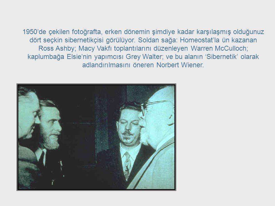 Bu toplantılar, 1948'de Norbert Wiener'in 'Sibernetik' adlı kitabının da yayınlanmasıyla birlikte, bugün bildiğimiz sibernetiğin gelişiminin temelini