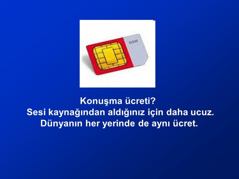 Yabancı Hat için numarayı nereden alıyorsunuz? İsterseniz Türk Telekom'dan isterseniz Amerika'dan. Numarayı alıyor SIM kartın üzerine basıyorsunuz. Es