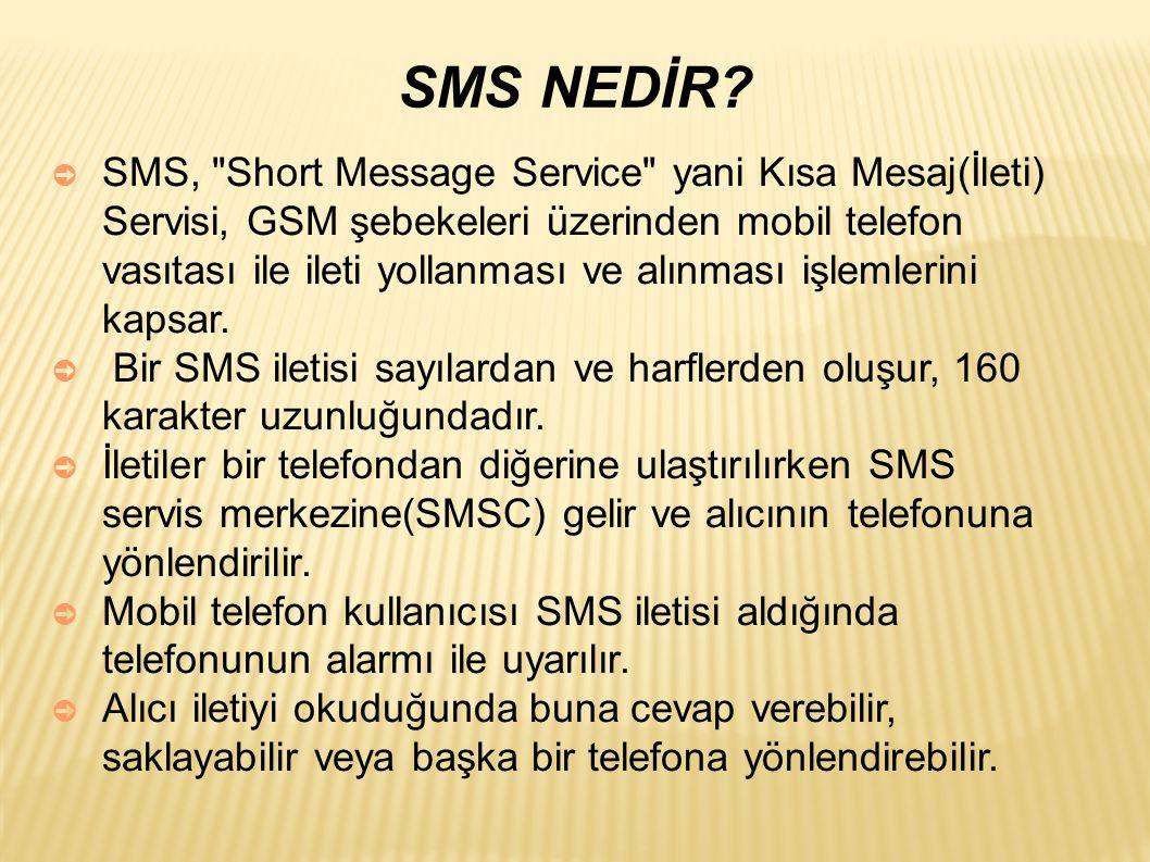 SMS NEDİR.