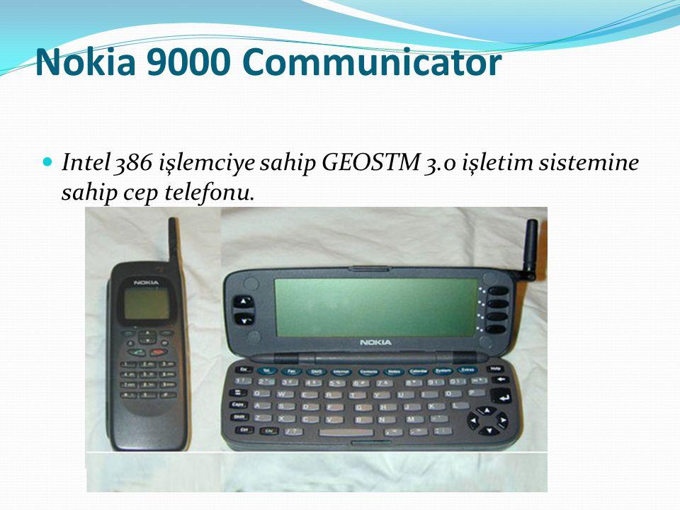 Nokia N90 Nokia nın multimedya odaklı telefonu N90, Symbian işletim sistemi ve son derece güçlü donanımı ile dikkat çeken bir cihaz.