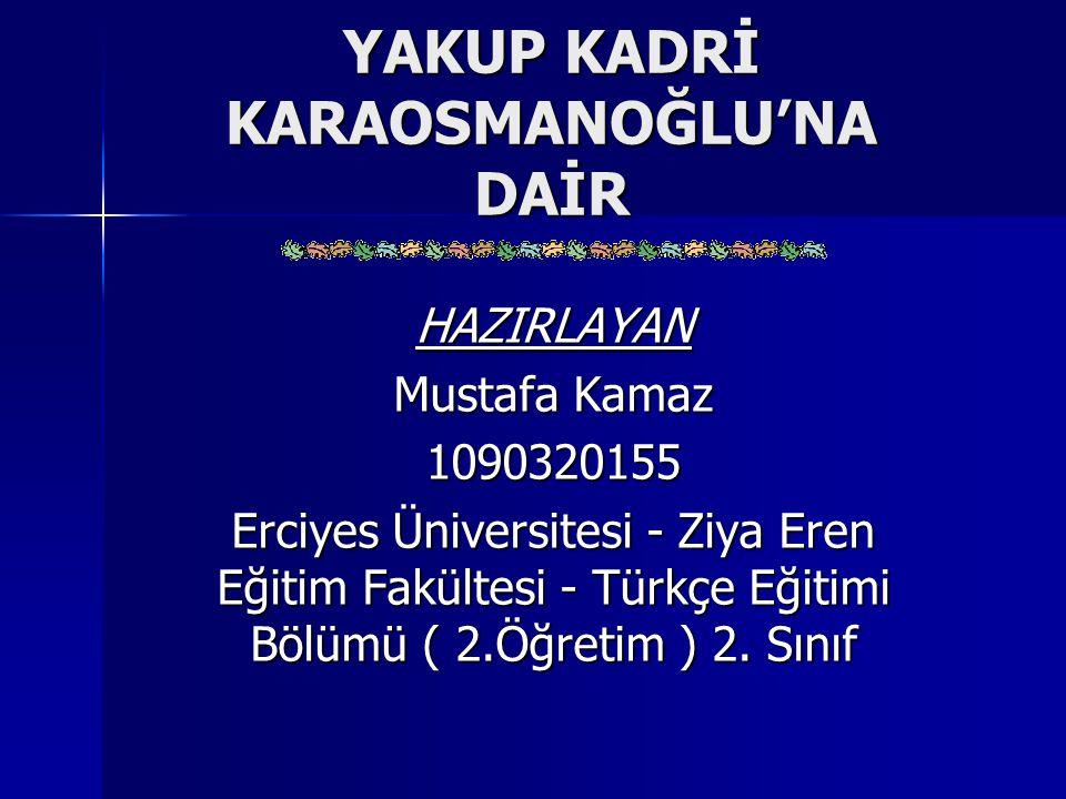 Eser Özetleri ( Devam ) Vatan Yolunda Vatan Yolunda Milli Mücadele Hatıraları Millî Mücadelemizin Avrupa'dan görünüşü, İstanbul'a Doğru, Millî Mücadelemizin İstanbul'dan Görünüşü, Ankara'da, Yunan Taarruzu ve Sakarya Harbi, İzmir'de Görüşeceğiz başlıkları altında toplanmış anılar demeti… Milli Mücadele Hatıraları Millî Mücadelemizin Avrupa'dan görünüşü, İstanbul'a Doğru, Millî Mücadelemizin İstanbul'dan Görünüşü, Ankara'da, Yunan Taarruzu ve Sakarya Harbi, İzmir'de Görüşeceğiz başlıkları altında toplanmış anılar demeti…