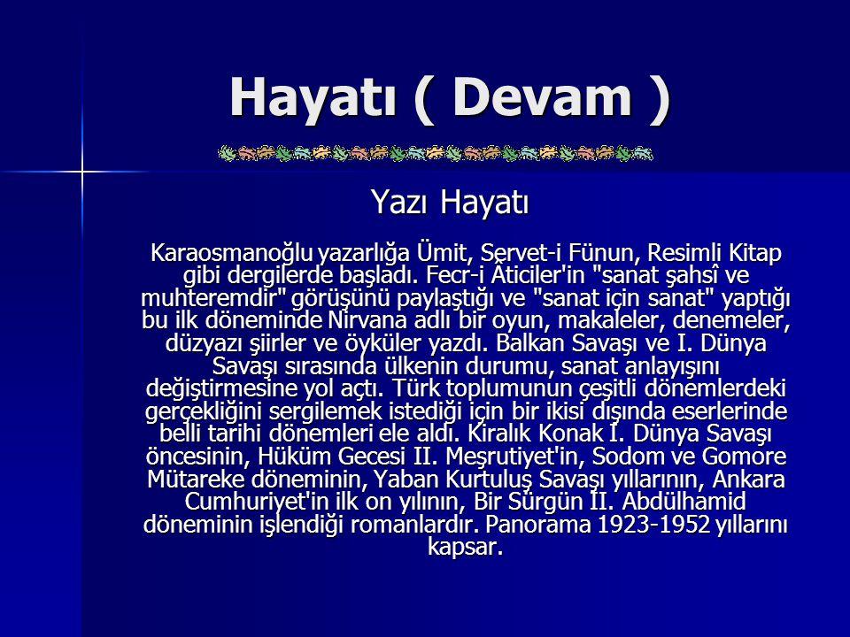 Eserleri ( Devam ) MAKALE: İzmir'den Bursa'ya (1922, Halide Edip, Falih Rıfkı Atay ve Mehmet Asım Us ile birlikte) Kadınlık ve Kadınlarımız (1923) Seçme Yazılar (1928) Ergenekon (iki cilt, 1929) Alp Dağları'ndan ve Miss Chalfrin'in Albümünden (1942) MAKALE: İzmir'den Bursa'ya (1922, Halide Edip, Falih Rıfkı Atay ve Mehmet Asım Us ile birlikte) Kadınlık ve Kadınlarımız (1923) Seçme Yazılar (1928) Ergenekon (iki cilt, 1929) Alp Dağları'ndan ve Miss Chalfrin'in Albümünden (1942)