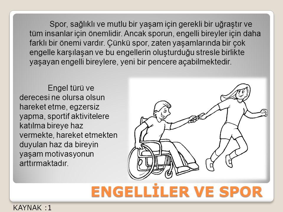 Spor, sağlıklı ve mutlu bir yaşam için gerekli bir uğraştır ve tüm insanlar için önemlidir.