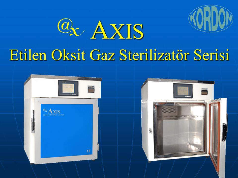 Sonuç Yeni güvenli ve pratik Etilen Oksit Yeni güvenli ve pratik Etilen Oksit gaz sterilizasyon sistemi gaz sterilizasyon sistemi Sağlam yapı, arıza risksiz kullanım Sağlam yapı, arıza risksiz kullanım