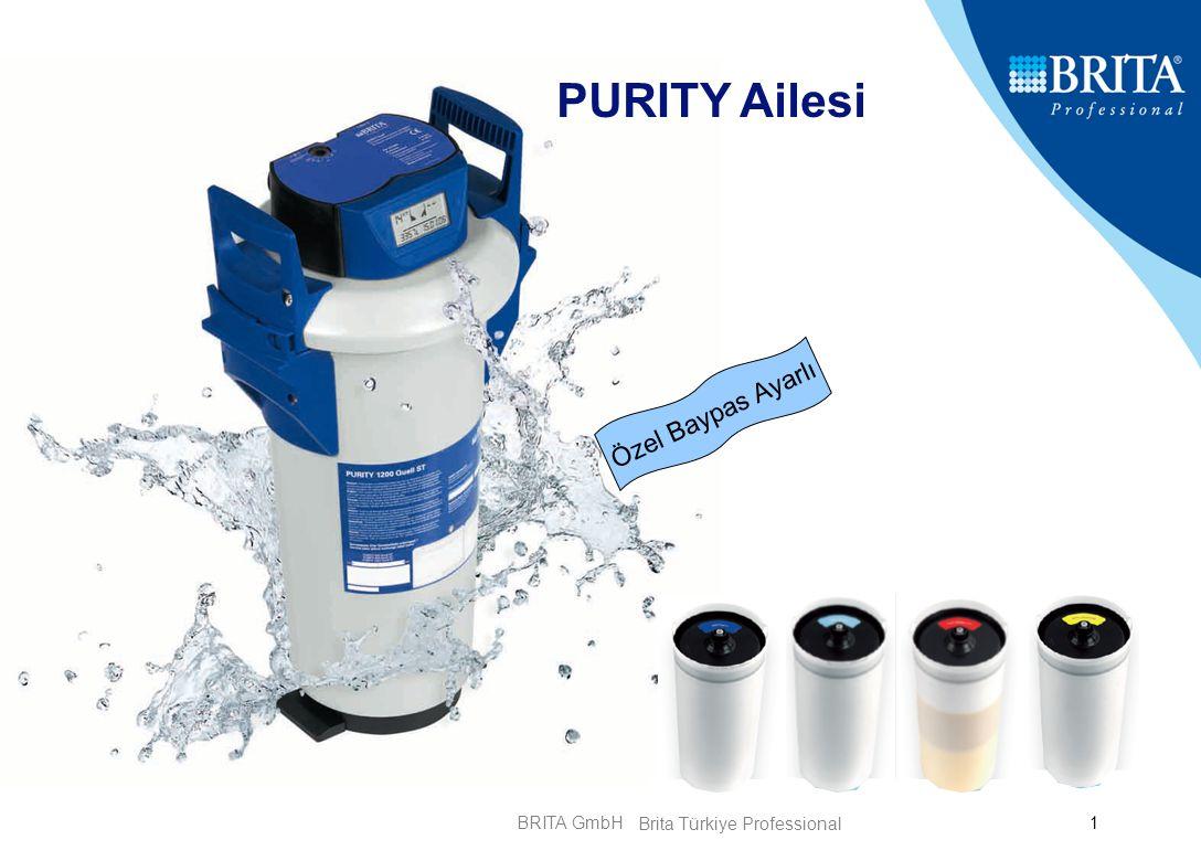 BRITA GmbH2 PURITY 3 Sözümüz: Mükemmel Su Kalitesi En Yüksek Ürün Güvencesi Kolay Kullanım Bir Teknoloji – Çoklu Çözüm Brita Türkiye Professional