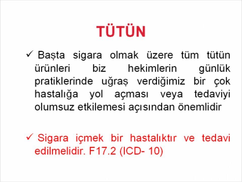Sigara üreticileri gelişmiş ülkelerde yasaklardan dolayı satamadıkları yüksek katranlı ve yüksek nikotinli sigaraları gelişmemiş ülkelerin pazarına sürmektedir Dünya Sağlık Örgütü Türkiye de sigara kullanımı son 20 yılda yüzde 80 oranında arttı.