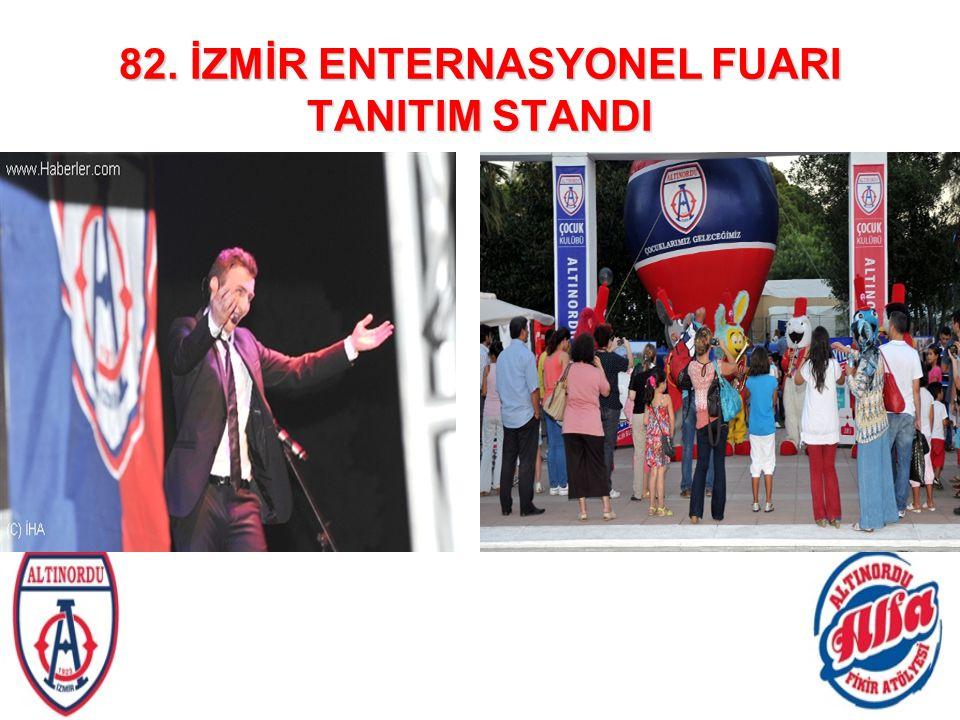 82. İZMİR ENTERNASYONEL FUARI TANITIM STANDI