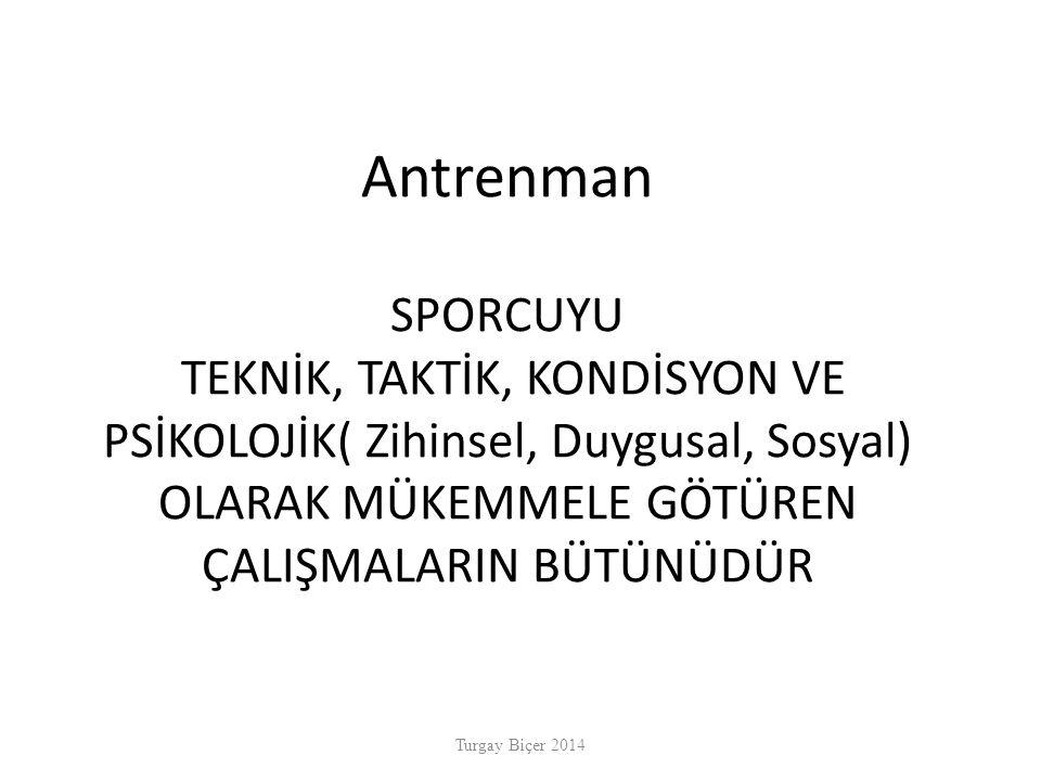 Sporcular insandır.... Turgay Biçer 2014