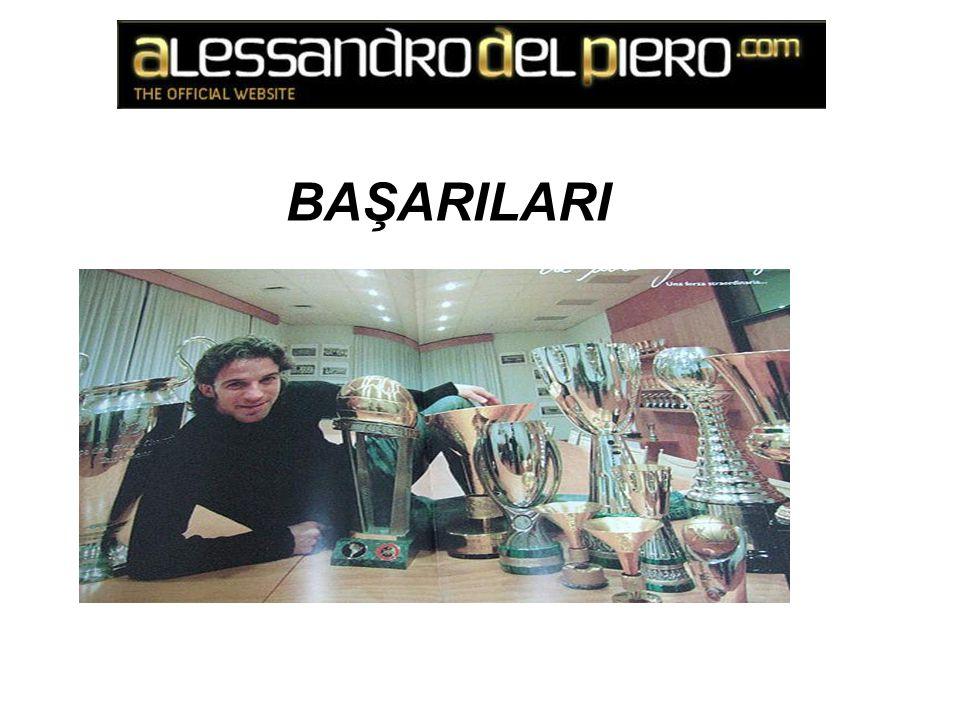 7 Serie A Şampiyonluğu 4 İtalya Süper Kupası 1 İtalya Kupası 1 UEFA Şampiyonlar Ligi 3 UEFA Şampiyonlar Ligi Finali 1 Avrupa Süper Kupası