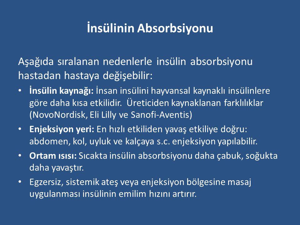 İnsülin Tedavisinin Komplikasyonları İnsülin anabolizan bir hormondur.