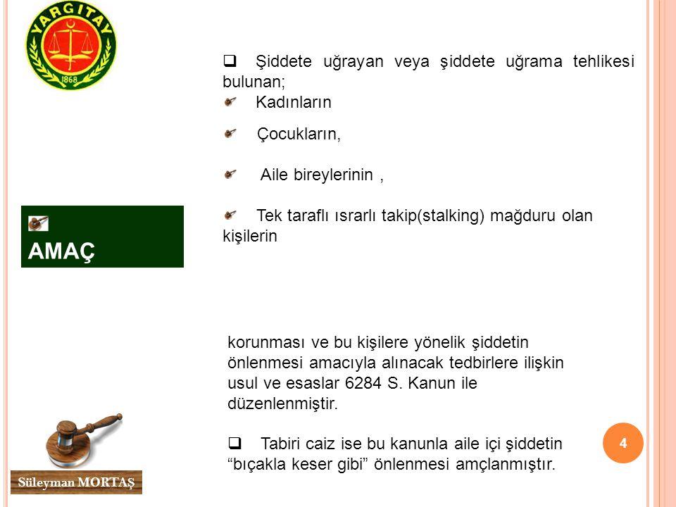 5 Süleyman MORTA Ş STALKING