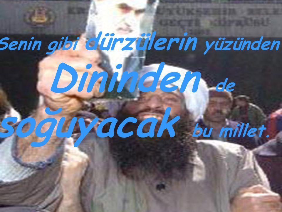Yatıp kalkıp Atatürk' e dua et
